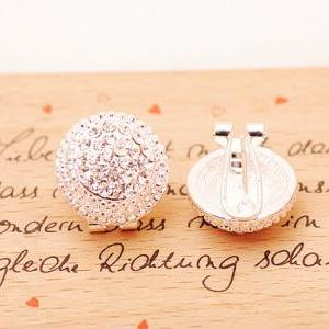 Women's Diamond Earrings Cute Earri..