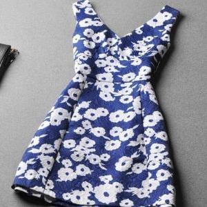 Sexy Printed Princess Dress GG731FC