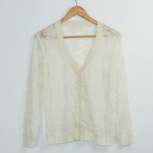 Openwork lace knit cardigan GH804BA..