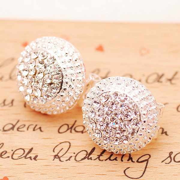 Women's Diamond Earrings Cute Earrings Small Jewelry A 082611